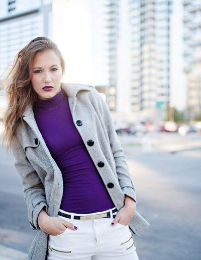 Model: Katie West | Photo by Huyen Tran Photography